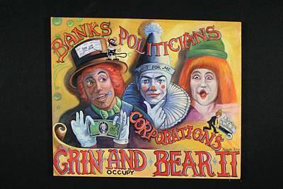Grin And Bear It. Original by Natasha Robinson