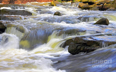 Photograph - Grindstone Rapids by Charline Xia