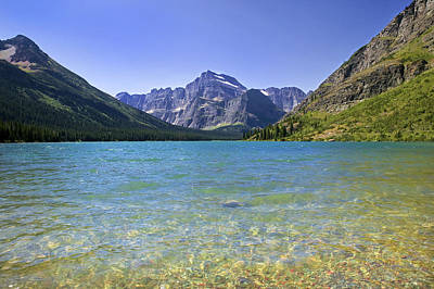 Grinnel Lake Glacier National Park Art Print by Rich Franco