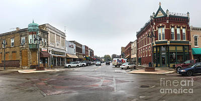 Grinnell Iowa - Downtown - 05 Art Print