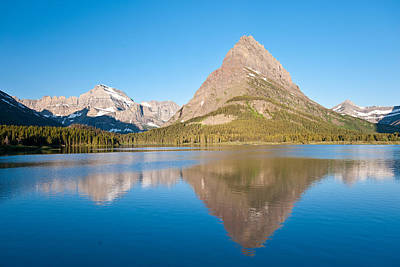 Photograph - Grinnell Point, Glacier National Park by Andrew J. Martinez