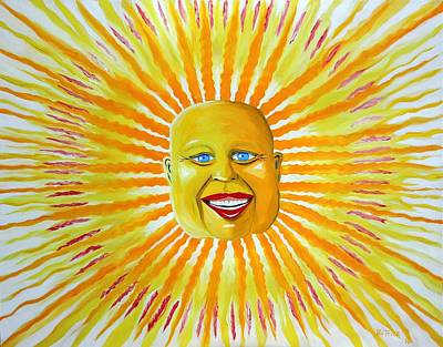 Grinning Sun Original