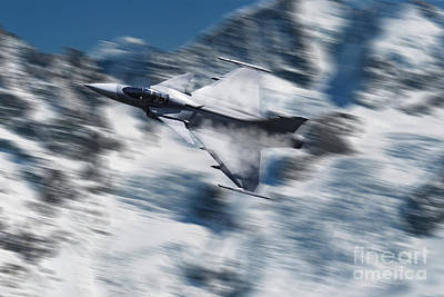Czech Digital Art - Gripen - Axalp by J Biggadike