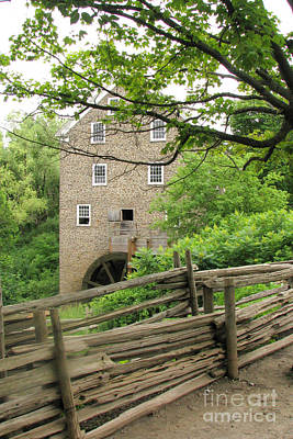 Photograph - Gris Mill by Frank Townsley