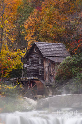 Photograph - Grist Mill At Babcock State Park by Dan Friend