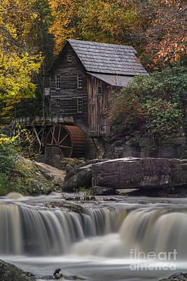 Photograph - Grist Mill Below From Below Falls by Dan Friend