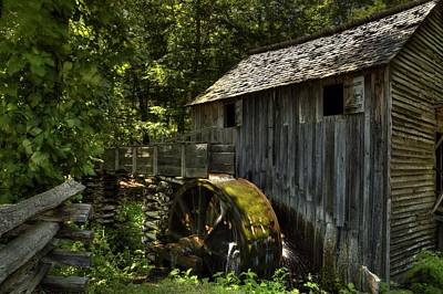 Photograph - Grist Mill by Coby Cooper
