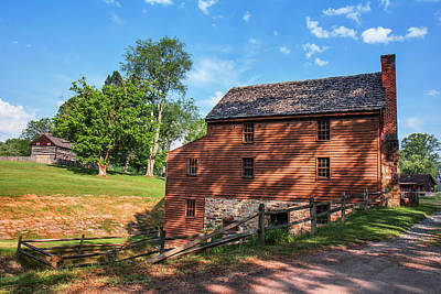 Photograph - Gristmill At The Farmstead by Mary Almond