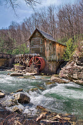 Photograph - Gristmill In Spring by Mary Almond