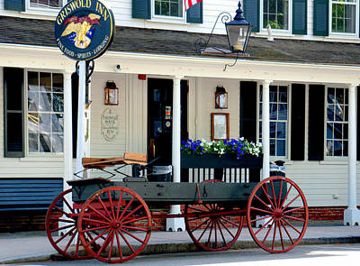 Griswold Inn And Tavern Art Print by Caroline Stella