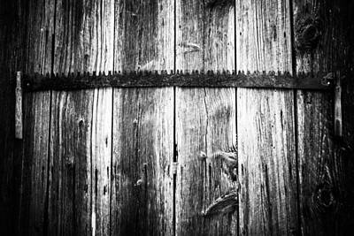 Photograph - Grit Determination And Hard Work Bw Carpenter by Parker Cunningham