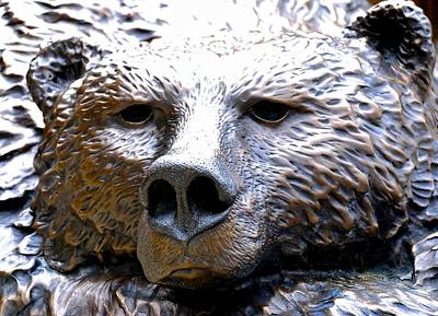 Photograph - Grizzly 3 by Charlie Brock