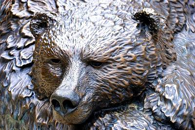 Photograph - Grizzly Bear 2 by Charlie and Norma Brock