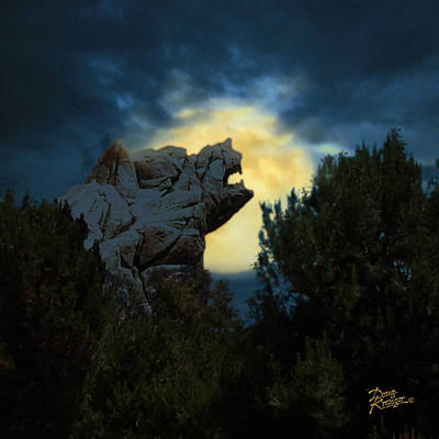 Grizzly Digital Art - Grizzly Peak by Doug Kreuger