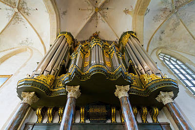 Photograph - Groningen Pipe Organ by Jenny Setchell