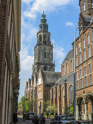 Martini Royalty-Free and Rights-Managed Images - Groningen with Martinitower by Patricia Hofmeester