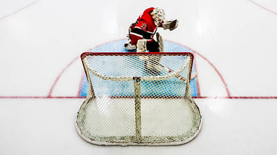 Zamboni Photograph - Grooming The Crease by Tom Gort