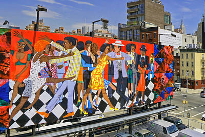 Photograph - Groovin High By Faith Ringgold by Allen Beatty