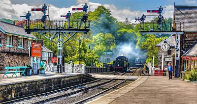 Grosmont Railway Station Art Print by Trevor Kersley