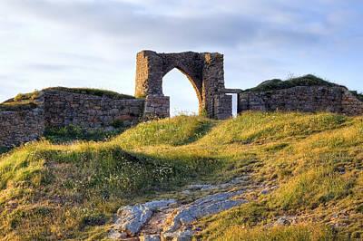 Castle Photograph - Grosnez Castle - Jersey by Joana Kruse