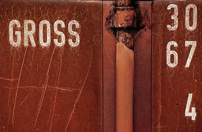 Rusted Metal Wall Art - Photograph - Gross by Dragan Jovancevic