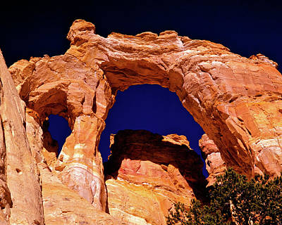 Grosvenor Arch Sunset Kodachrome Basin Art Print