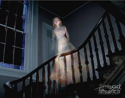 Grosvenor Ghost Art Print by Tom Straub