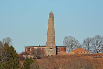 Photograph - Groton Monument by Keith Stokes