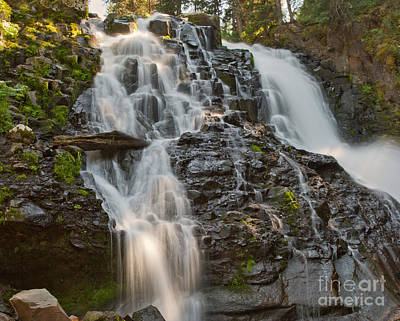Photograph - Grotto Falls by Charles Kozierok