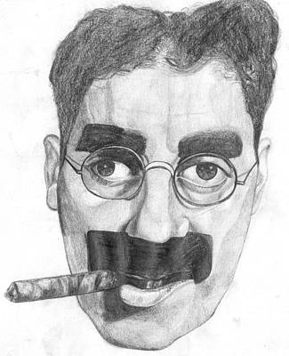 Groucho Marx Painting - Groucho by Ben Pogge