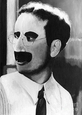 Painting - Groucho Marx by Peggy Dreher