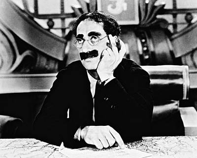 Groucho Marx Photograph - Groucho Marx by Silver Screen