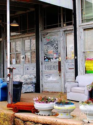Photograph - Ground Zero Clarksdale Mississippi by Lizi Beard-Ward