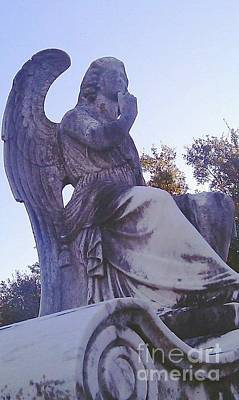 Photograph - Grounded Angel by Michael Hoard
