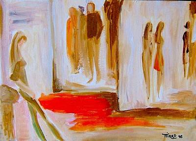 Painting - Group 96 - Attendre by Mirko Gallery