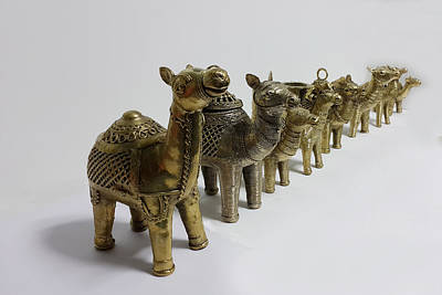 Group Of Camels Original by Art Tantra
