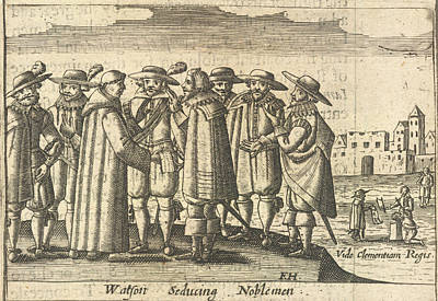 Mercy Photograph - Group Of Noblemen by British Library