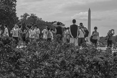 Photograph - Group Photo In D.c.  by John McGraw