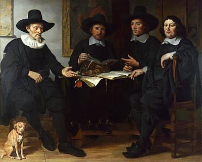 Painting - Group Portrait by Gerbrand van den Eeckhout