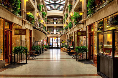Photograph - Grove Arcade Asheville Nc by Greg and Chrystal Mimbs