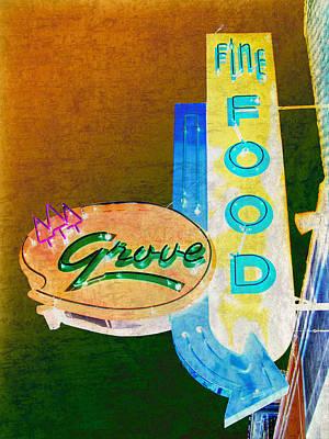 Photograph - Grove Fine Food Var 3 by Gail Lawnicki