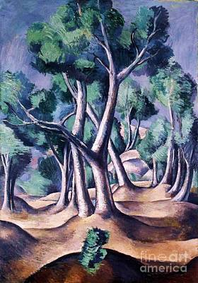 Grove Art Print by Pg Reproductions