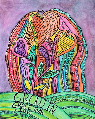 Painting - Grow In Grace by Lauretta Curtis