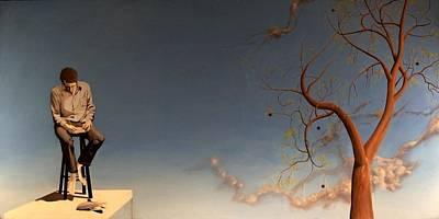 Ayn Rand Wall Art - Painting - Growing by Andrew Sandberg