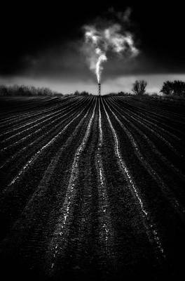 Dirt Photograph - Growing Industry by Marc Apers