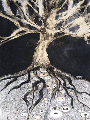 Painting - Growing Roots by Tara Thelen