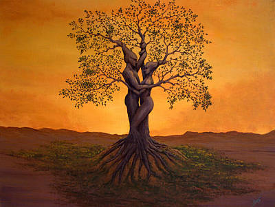 Growing Together Art Print by Michael Wheeler