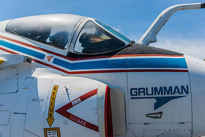 Photograph - Grumman A-6 Intruder by Chris McKenna
