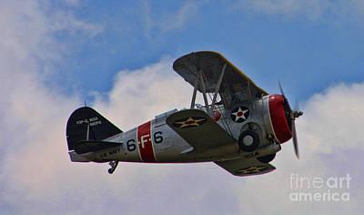 F3f Photograph - Grumman F3f-2 Bi-plane by Tommy Anderson
