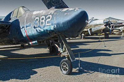 Grumman Tigercat F7f-3n  -  01 Art Print by Gregory Dyer